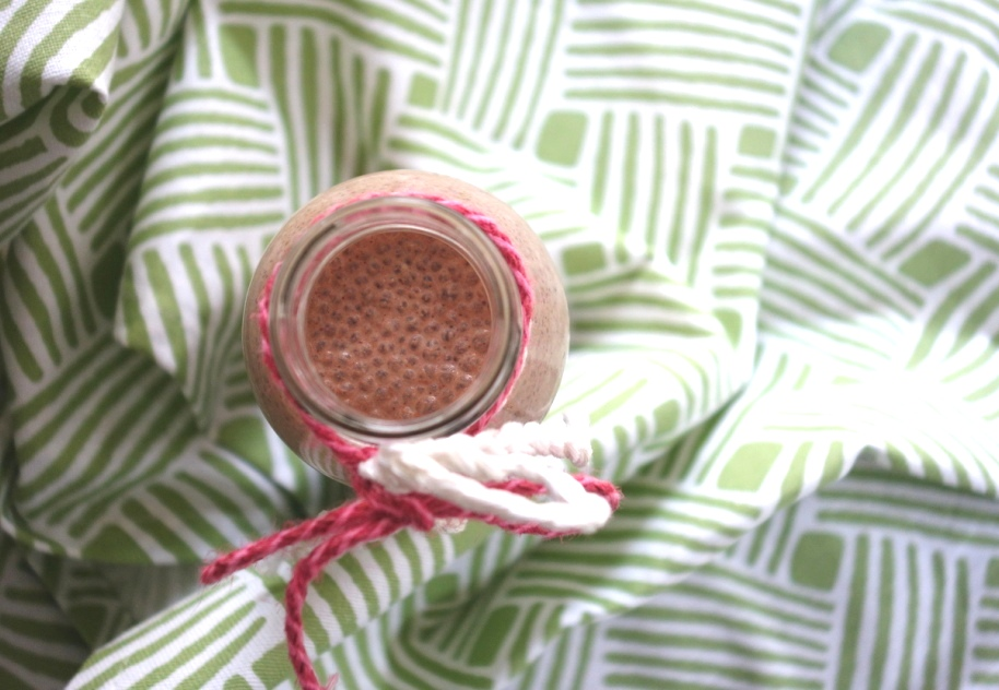 Creamy Chocolate Banana Smoothie