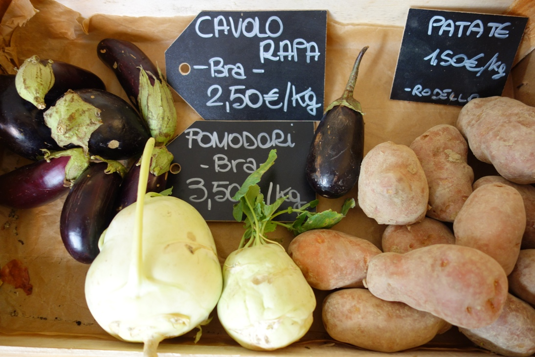 Local Vegetables in Bra