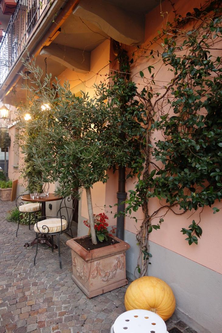 Little restaurant in Barolo