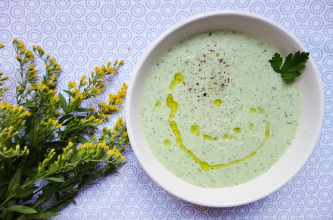 Chilled Parsley Soup