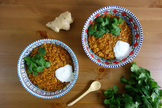Slow Cooked Indian Lentil Dal